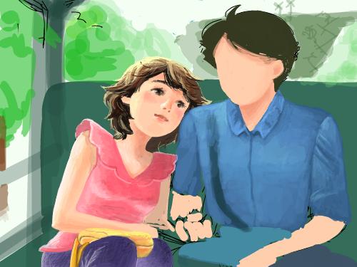 4월의. : 커플이야기-  그리다 보니 울컥! 내 님하~어딨니 ㅋㅋㅋㅋ 스케치판 ,sketchpan