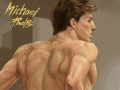 Michael Phelps : Michael Phelps 완존 멋져여~ 스케치판 ,sketchpan
