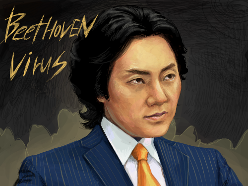 베토벤바이러스 : 요즘 베토벤바이러스 완전 인기죠?ㅎㅎ 독설가 강마에~하지만 마음은 따뜻한 캐릭터 ^ ^ 스케치판 ,sketchpan