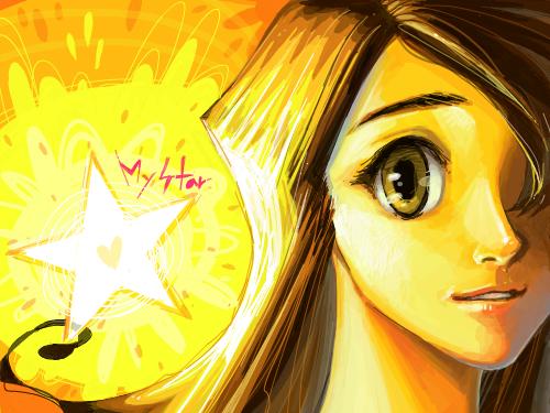My Star : 어디엔가 반드시 존재하는 나의 꿈. 그리고 너의 꿈. 너를 알아가는 일을 포기하지마. 스케치판 ,sketchpan