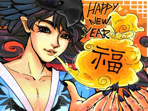 HAPPY NEW YEAR : HAPPY NEW YEAR- 스케치판 여러분 새해 복!!많이 많이 받아요>. 스케치판 ,sketchpan