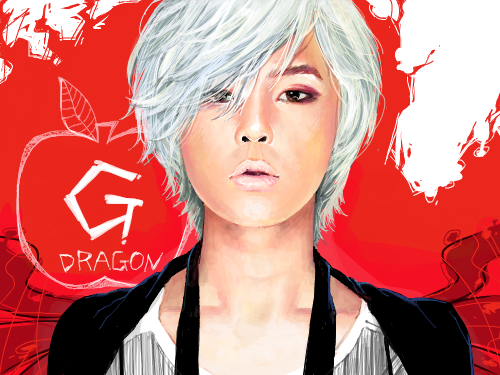 Heart Breaker : G-dragon 스케치판 ,sketchpan