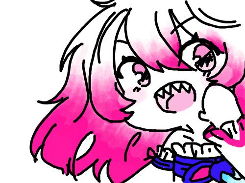 엘소드 신캐 : 안녕? 나, 라비! 스케치판 ,sketchpan