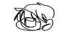 손 안 떼고.. : 손 안 떼고 그리기 스케치판 ,sketchpan