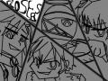 CLOSERS!! : 흑백 채색 한  삼인방 클로저스입니다!열시 클저는 클베떄가재밋엇음.! 스케치판 ,sketchpan