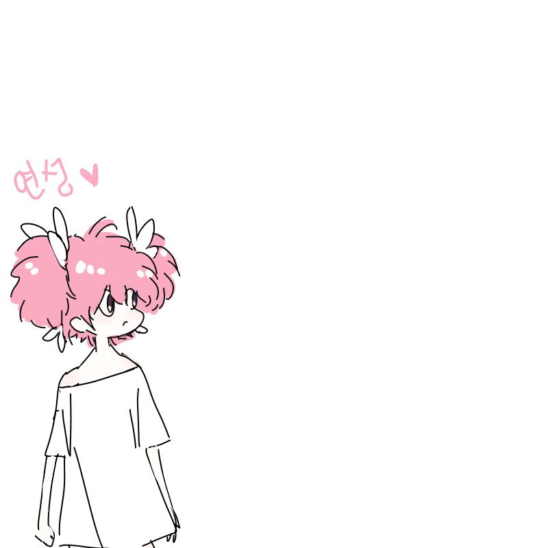 복슬머리.. : 복슬머리짱... 스케치판 ,sketchpan