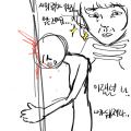 시험공부를.. : 시험공부를 안일하게 미루던 나 나가뒈지세요.....  시험 때 영웅은 죽지안하요...★ 스케치판 ,sketchpan