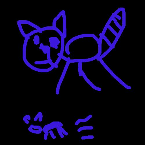 고양이 형.. : 고양이 형제 스케치판 ,sketchpan