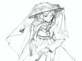 선화(리퀘.. : 선화(리퀘여서 채색은 안올릴거에요!) 스케치판 ,sketchpan