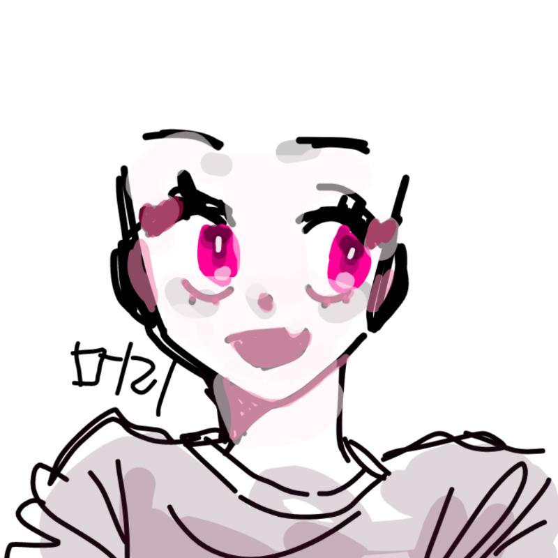 머리 : 머리 스케치판 ,sketchpan