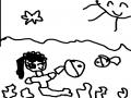 연희의 그.. : 연희의 그림 바닷속 안어공주 스케치판 ,sketchpan