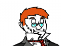 Dapper : I have the sudden inclination to shout 'bully' and 'waagh'. 스케치판 ,sketchpan