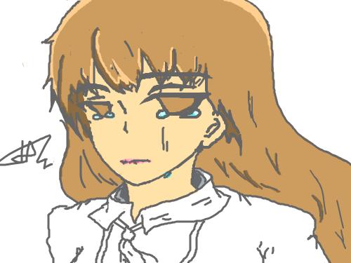 눈물 : 남친에게 차인여인 스케치판 ,sketchpan