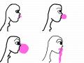 GUM BLOWER : GUM BLOWER 스케치판 ,sketchpan