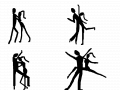 LET\'S DANCE : DANCERS 스케치판 ,sketchpan