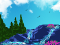 breath : mountains and streams and cloudy sky 스케치판 ,sketchpan