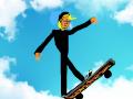 skateboard : kid skateboarding 스케치판 ,sketchpan