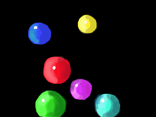 MARBLES : COLORED MARBLES 스케치판 ,sketchpan