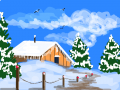THE LODGE : LODGE IN WINTER 스케치판 ,sketchpan