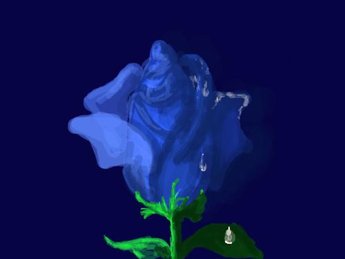 BLUE ROSE : BLUE ROSE 스케치판 ,sketchpan