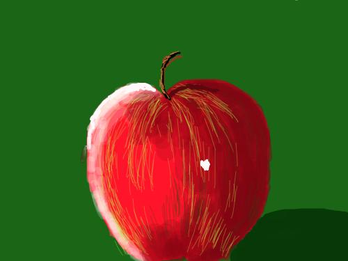 APPLE : FRUIT 스케치판 ,sketchpan