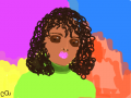 CURLY TOP : CURLY TOP 스케치판 ,sketchpan