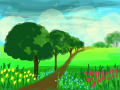 NATURE : NATURE TRAIL 스케치판 ,sketchpan