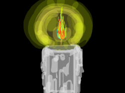 flame : flame , 스케치판,sketchpan,warden