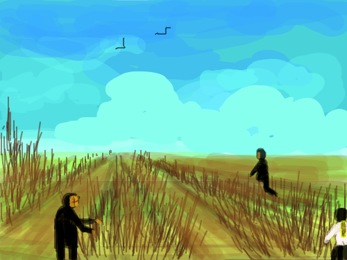 HARVESTING : FARMING 스케치판 ,sketchpan