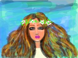 flower girl : flower girl , 스케치판,sketchpan,warden