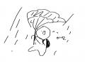 비오는대 .. : 비오는대 우산 두번 저렇게 됨 스케치판 ,sketchpan