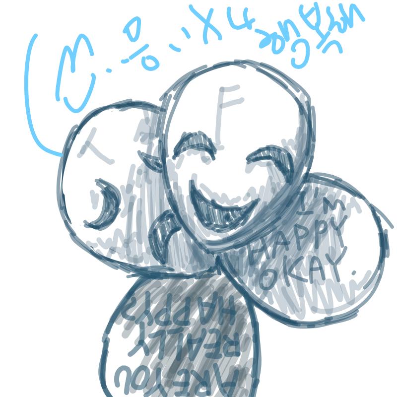 일단은 왜 .. : 일단은 왜 그렸는지 기억안나구요~ 어후 사는게 재미가 없다 쀏 스케치판 ,sketchpan