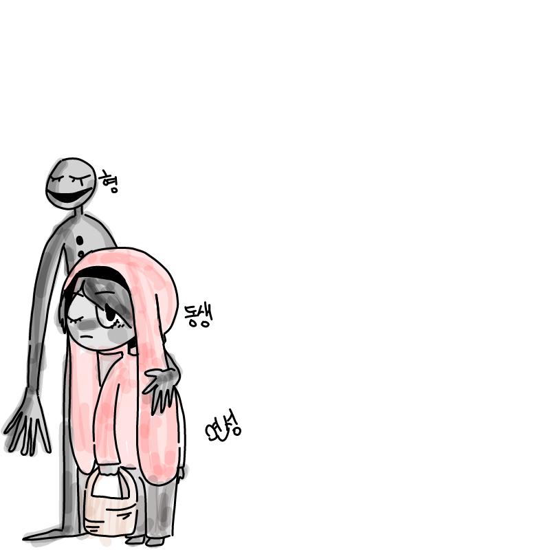 ( 이제부터.. : ( 이제부터 캐릭터 소개도 쓰겠습니다 )  동생은 덴드 형은 덴크 덴크는 어떤 마녀의 의해 모습이 이상해졌지만 동생 덴드는 이상해진 형도 그대로 사랑했다 그리고 어느 날 덴드는 덴크와 함께 마녀를 무찌르러 떠난다 스케치판 ,sketchpan