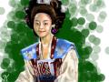 선덕여왕-미실 : 선덕여왕에서 주인공인줄 알았는데 나쁜 역이였네요;; 스케치판 ,sketchpan