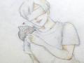 낙서짤입니.. : 낙서짤입니다 요즘 물오른 범고래회 한입 먹고가ㅅ...(퍽 스케치판,sketchpan