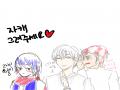 자캐 이어.. : 자캐 이어그리기 스케치판,sketchpan