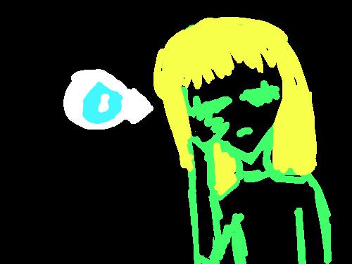 don\'t make fun  :D : don't make fun of her or beware 스케치판 ,sketchpan