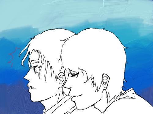 BL ???? : work in progressssssss -w- 스케치판 ,sketchpan