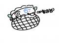 잼보다 크.. : 잼보다 크림! 크림보다 아이스크림 와플이 더 죠아요! 스케치판,sketchpan