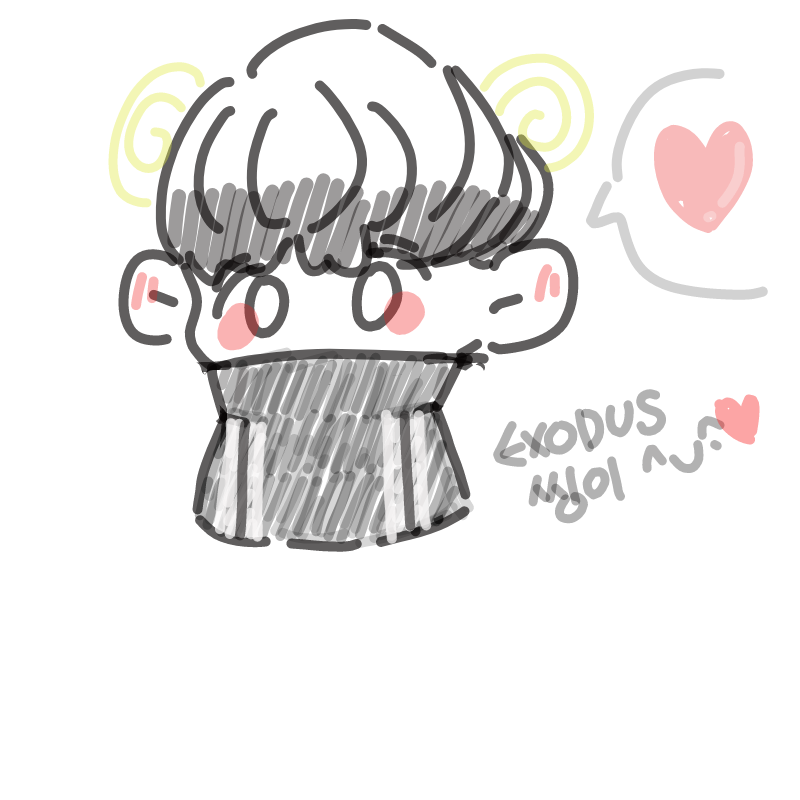 EXODUS EXO.. : EXODUS EXODUS It's my EXODUS 스케치판 ,sketchpan