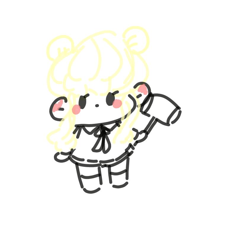 여자아이 : 여자아이 스케치판 ,sketchpan