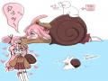 예쁜 달팽.. : 예쁜 달팽이토끼 (하뚜)  여러분이 맞이한 오늘도 무탈하고 웃음 가득한 날 되십셔