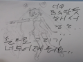 냥코대전쟁.. : 냥코대전쟁 갤럭시 걸즈 유닛 스케치판 ,sketchpan