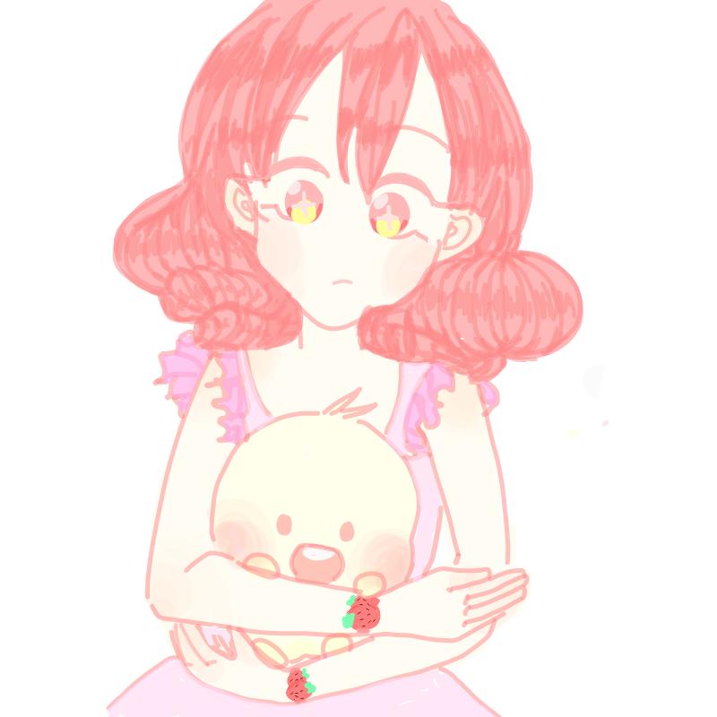 딸기크림 : 딸기크림 스케치판 ,sketchpan