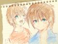 Happybirhday KaiRi xD : :) hehe 스케치판 ,sketchpan