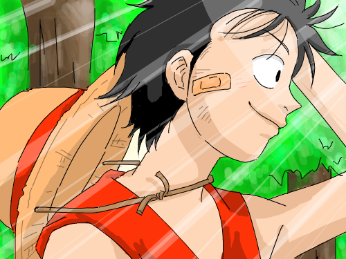 Monkey De Luffy : Luffy from One Peice. =3 스케치판 ,sketchpan