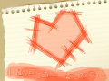 Love isn\'t perfect... : It's true. Love isn't perfect, and I wanted to express it. This was actually my friend, Joyce's idea. 스케치판 ,sketchpan