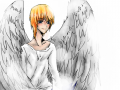 Iggy : Iggy from the series Maximum Ride, if anyone knows it. I love Iggy!! He's calm, collected, loves bombs, and is blind!! And Blond!! I had to fix him cuz i knew i got the colors wrong. I also did some fixes to him. 스케치판 ,sketchpan