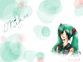 Hatsune Miku : From vocaloid! One of my fav characters. 스케치판 ,sketchpan