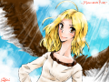 -Maximum Ride- (Max) : Let me introduce you to a friend--Maximum Ride, or Max for short. She is 98 percent human, and 2 percent bird. She has a strong personality, is paranoid, courageous, a great leader, and sarcastic. From the book series by James Patterson, Maximum Ride 스케치판 ,sketchpan
